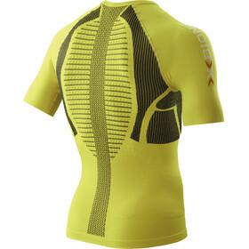 X-Bionic The Trick Running Hardloopshirt korte mouwen Heren geel
